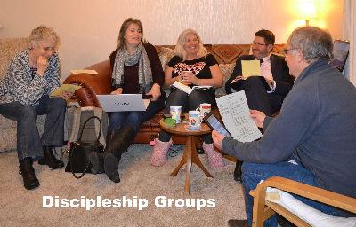 Discipleship group 2
