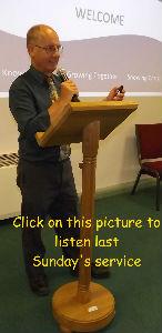 Nick preaching