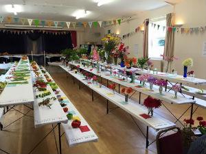 Gardening Club village show 2015