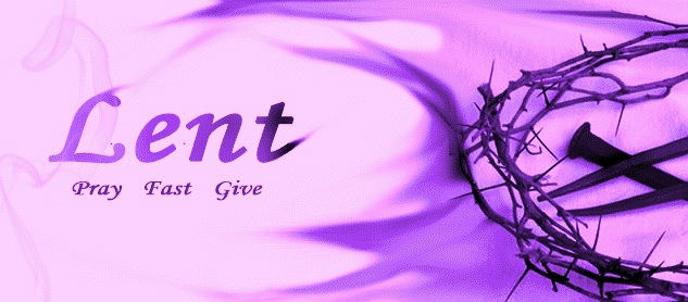 Lent - Fast Give - Pray