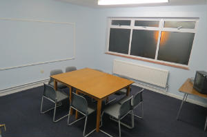Classroom upstairs