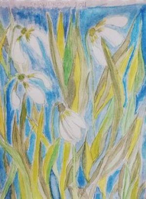Geraldine painting