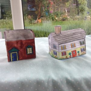 Robin and Pam Houses