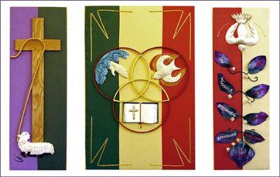 Frances Hawkens Triptych