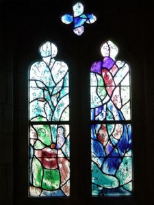 Window 1 Adam and Eve