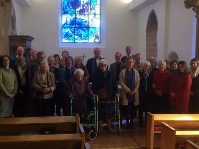 Congregation for visit