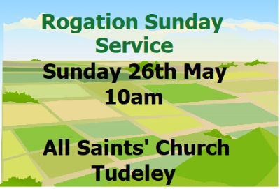 Rogation Sunday Service 26th May 10am at All Saints' Tudeley