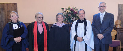 Revd Jennifer Millington, Revd Nicola Furley-Smith, Revd Wendy Swan, Revd Jeremy Ive, Mr John Ellis
