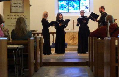 Soboryane Choir at Russian Heritage event