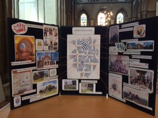 Display at Cathedral