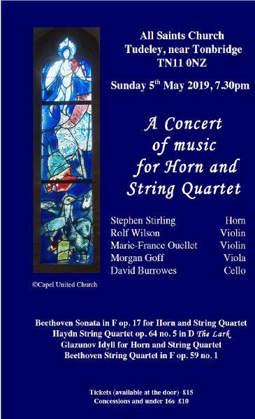 Concert details