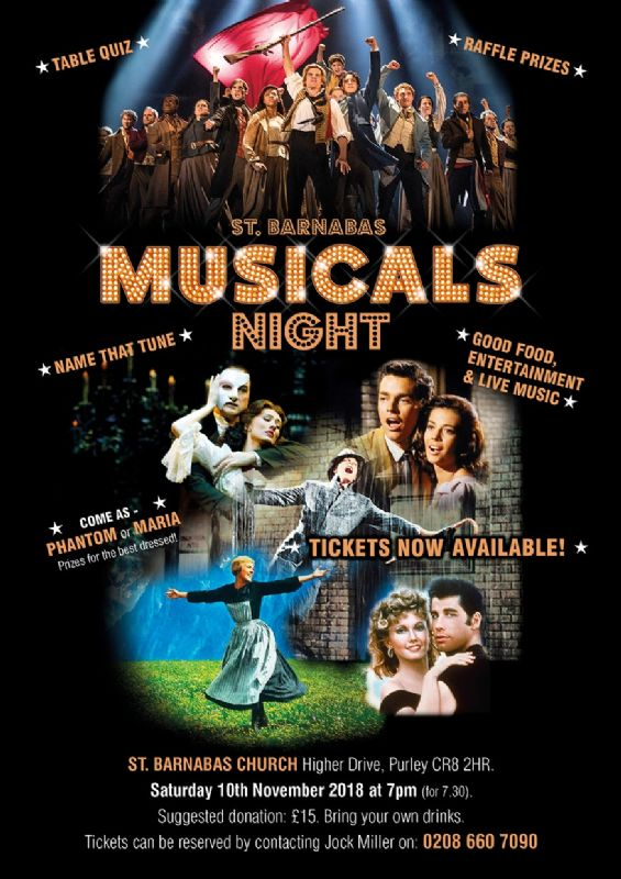 Musicals Night 2