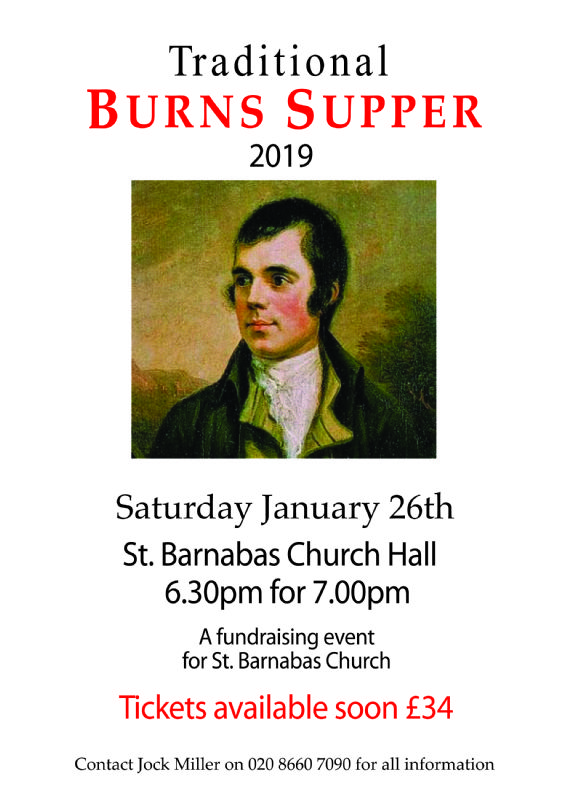 Burns Night 2019