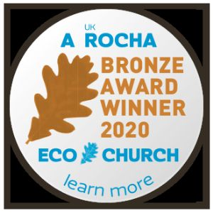 Eco Church Bronze Award Winner 2020