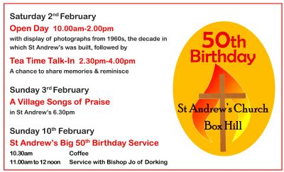 St Andrews 50th