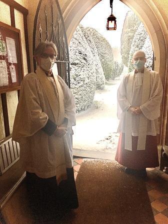 Archdeacon Visits St Marys Jan 21