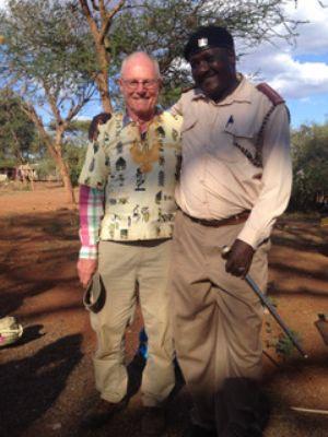 David with Principal Chief