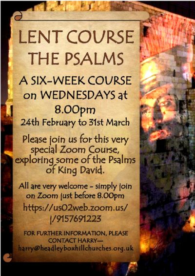 Lent Course The Psalms 2021