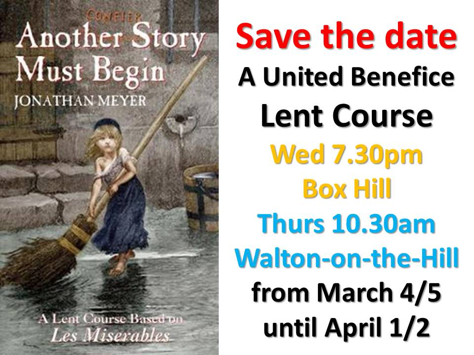 Save the Date Lent Course