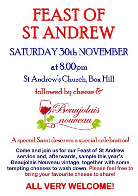 Feast of St Andrew
