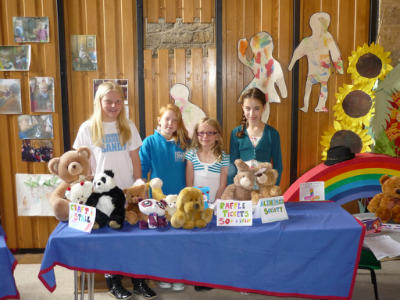 Fund-Raising for the Alzheimers Society 1