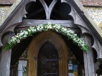 Porch arch - white