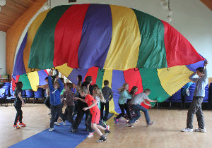 holiday club parachute