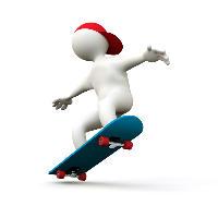 skateboard small