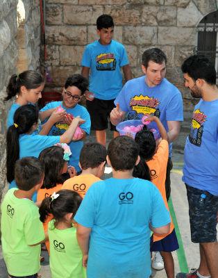 Ramallah holiday Bible club
