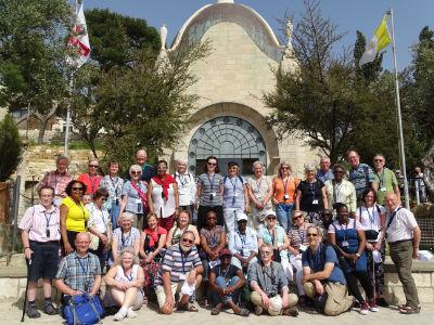 Group visit, April 2019