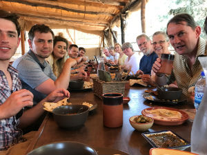 group visit by Battle Baptist Church to Israel, June 2017