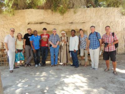 Pastors study tour group