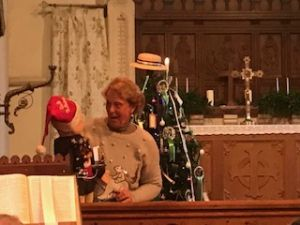Wally at our Christingle 2018