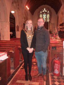 Torrington Mayor Keeley Allin and her husband
