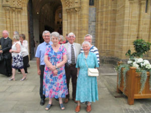 Buckfast Abbey 1000 year celebrations service on 11.07.2018