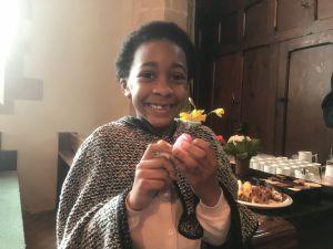 Celebrating Easter by eating Peeps