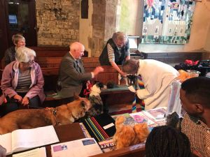 Blessing the pets