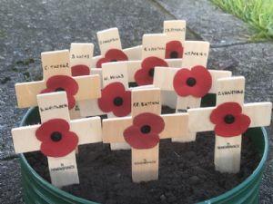 Named crosses for Petrockstowe men
