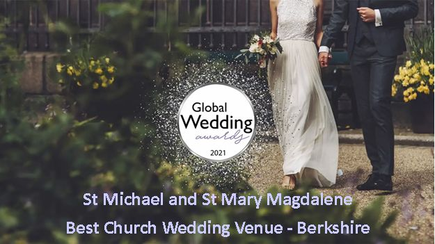 Global Wedding Awards 2021 - Best Church Wedding Venue - Berkshire