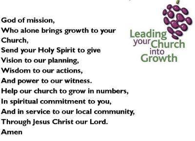 Prayer for our Church Growth