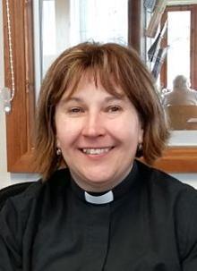 A photo of Rev Carol Dunk