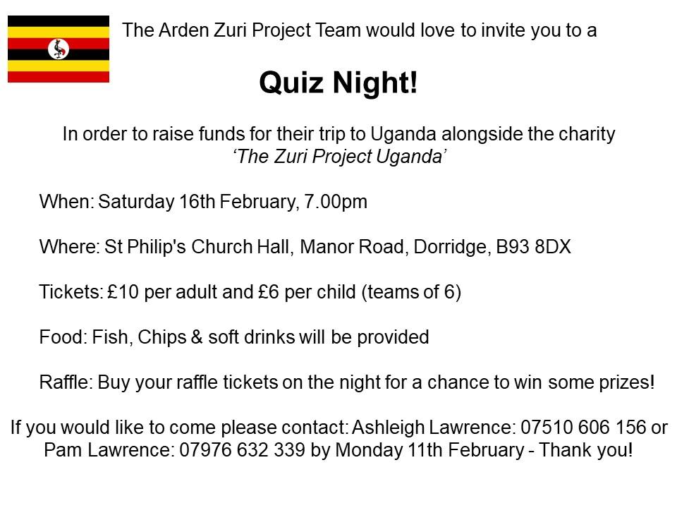 Arden Quiz