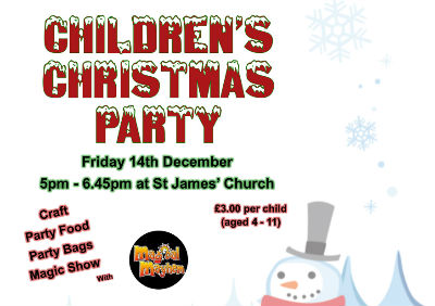 Childrens Christmas Party Poster