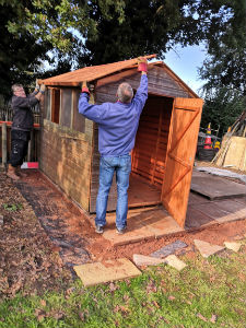 Shed build 2