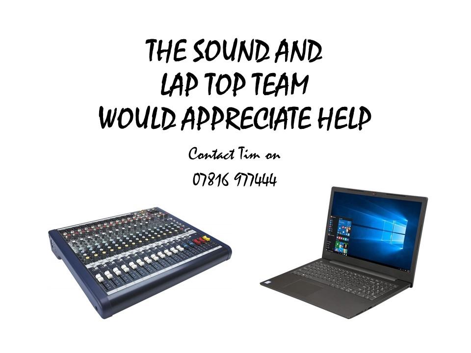 Sound  Laptop Help