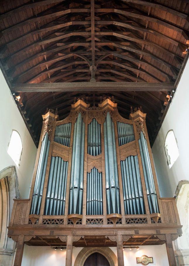 St Leonard's organ