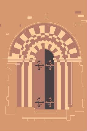 picture of St Leonards church door