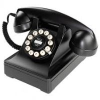 Picture of an old telephone handset