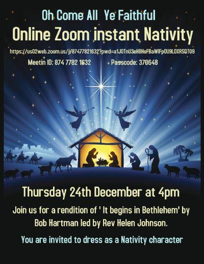 zoom nativity poster
