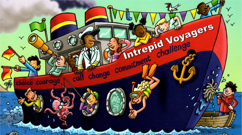 Intrpeid Voyagers Logo